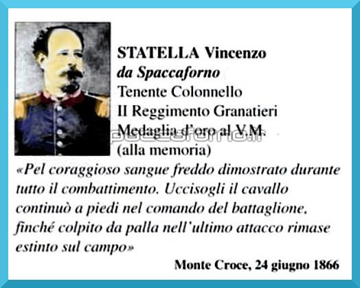 Nel 149° Anniversario della morte di Vincenzo Statella da Spaccaforno