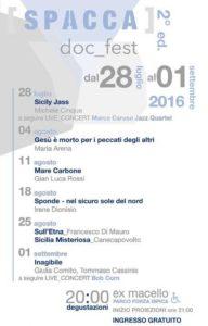 Spacca Doc_Fest edizione 2016 – Programma